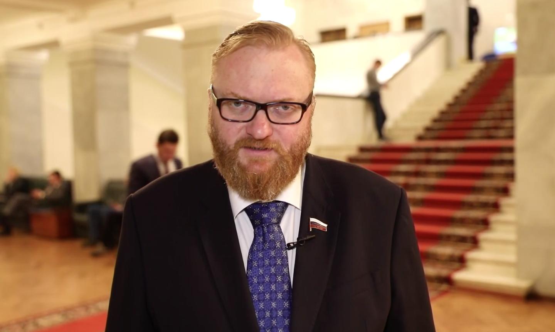 «Легкая степень маразма»: Милонов дал оценку заявлениям Европы о возможных боевых действиях со стороны РФ