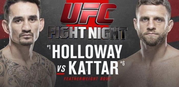 UFC Fight Night 16 января: Макс Холлоуэй – Кэлвин Каттар