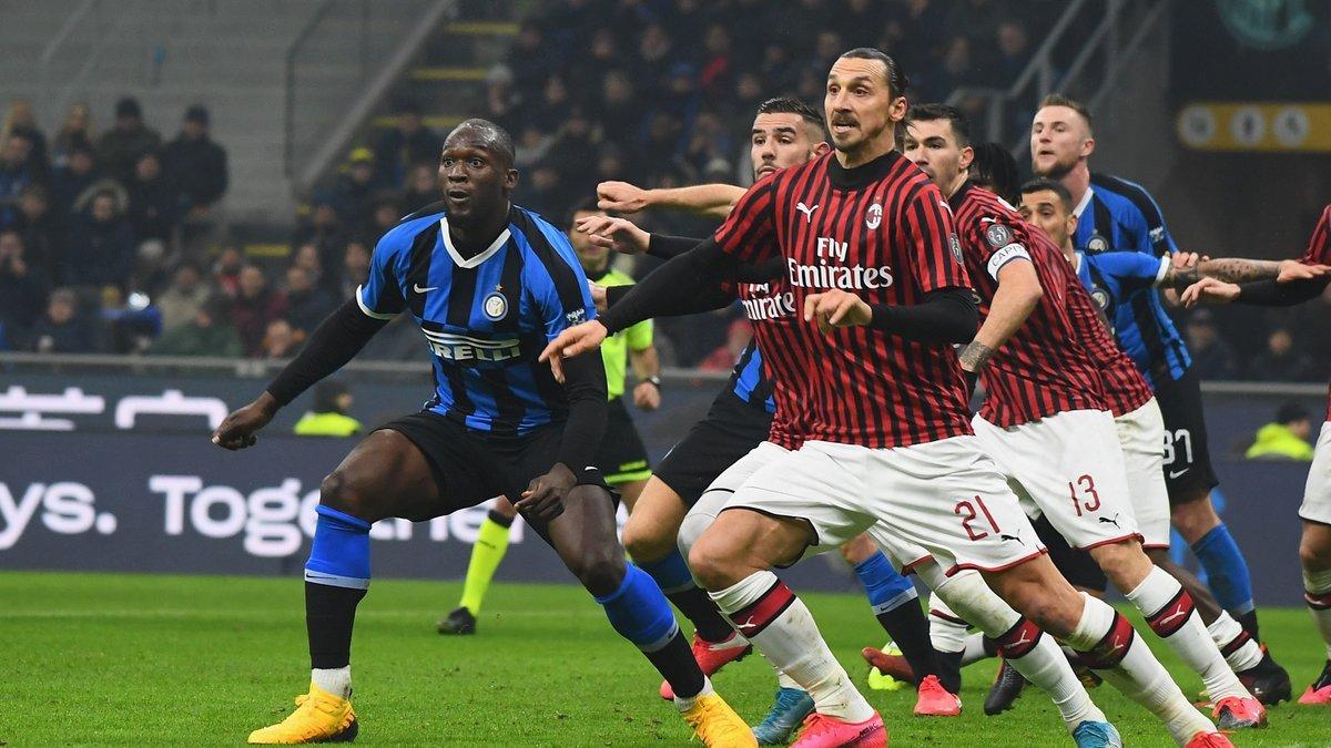 «Интер» − «Милан»